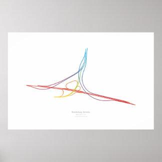 Interchange Choreography: Brandenburg, Germany Poster