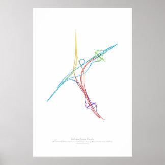 Interchange Choreography: Burlington, ON, CA Poster