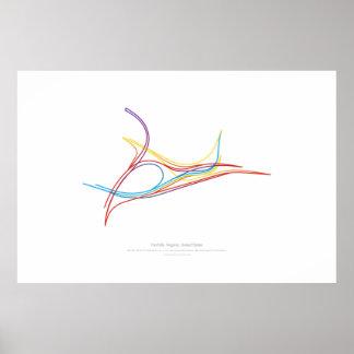 Interchange Choreography: Norfolk, VA, US 2 Poster