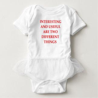 INTERESTING BABY BODYSUIT