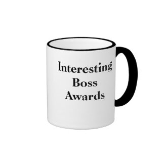 Interesting Boss Awards - Double-Sided Coffee Mugs