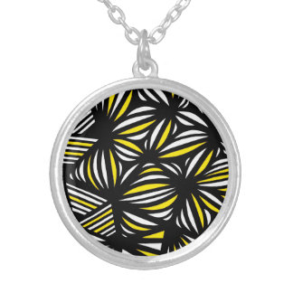 Interesting Brilliant Colorful Cool Round Pendant Necklace