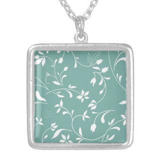 Interesting Brilliant Colorful Cool Square Pendant Necklace