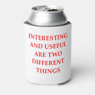 INTERESTING CAN COOLER