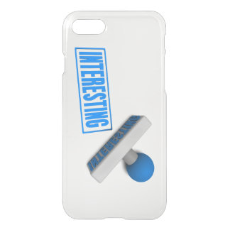 Interesting Stamp or Chop on Paper Concept iPhone 7 Case