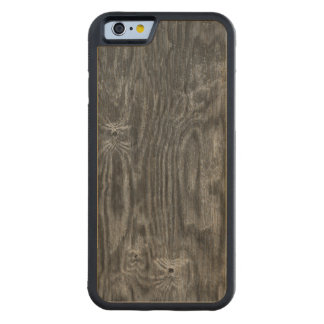 Interesting Wood Texture Carved Maple iPhone 6 Bumper Case