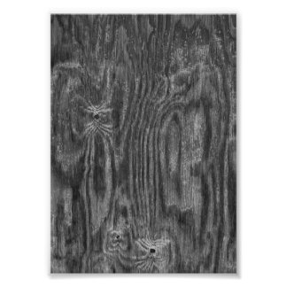 Interesting Wood Texture Photo Print