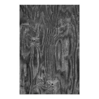 Interesting Wood Texture Photographic Print