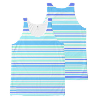 Interference (ocean) All-Over print singlet