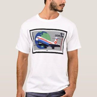 INTERFLUG - National Airline of DDR, East Germany T-Shirt