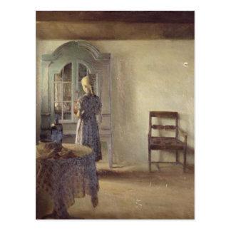 Interior, 1896 postcard