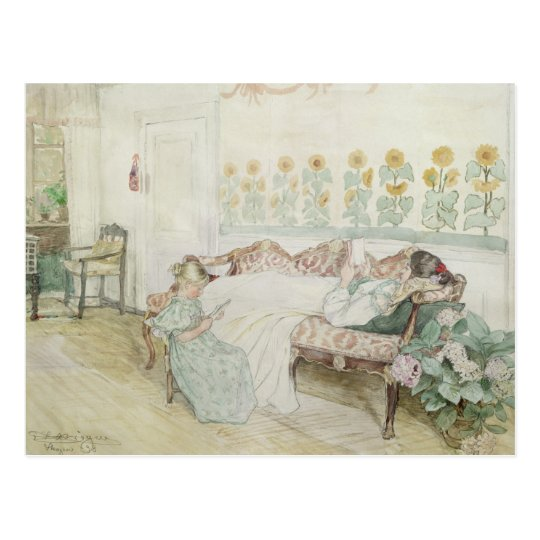 Interior, 1898 postcard