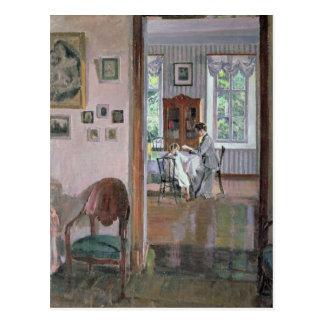 Interior, 1910 postcard