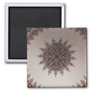 Interior Arabic Style Design Square Magnet