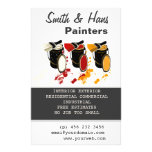 Interior Decorator Painters  House Painting Full Colour Flyer