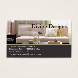 Interior Design - Customised Business Card