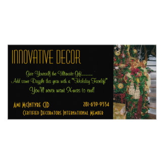 Interior Design holiday card