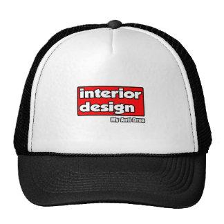 Interior Design...My Anti-Drug Hats