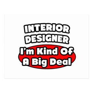 Interior Designer...Big Deal Postcards