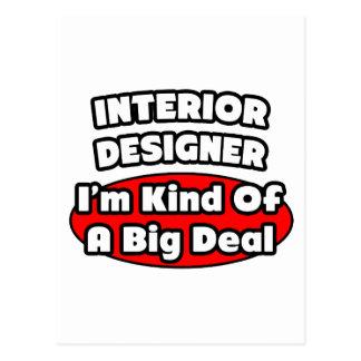 Interior Designer...Big Deal Post Cards