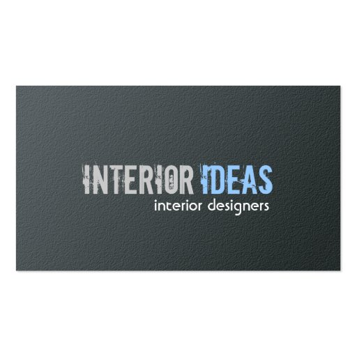 interior designer business cards zazzle