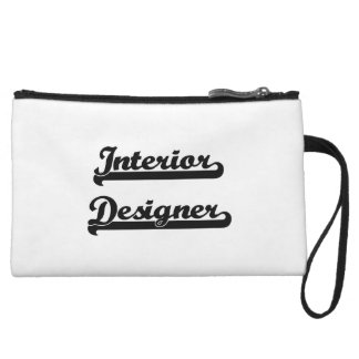 Interior Designer Classic Job Design Wristlet Clutch