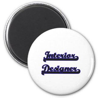 Interior Designer Classic Job Design 2 Inch Round Magnet