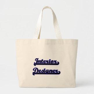 Interior Designer Classic Job Design Jumbo Tote Bag