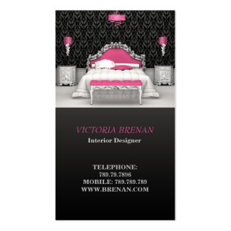 Interior Designer Furniture Business Card Template