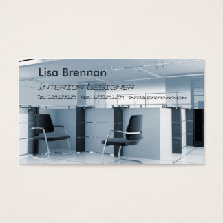 Interior Designer , Furniture Stylist Office Business Card