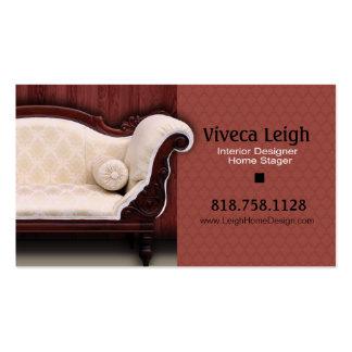 Interior Designer Home Stager Business Cards