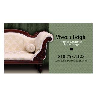 Interior Designer, Home Stager Pack Of Standard Business Cards
