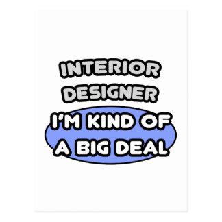 Interior Designer...Kind of a Big Deal Postcard