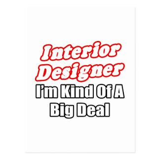 Interior Designer...Kind of a Big Deal Post Cards