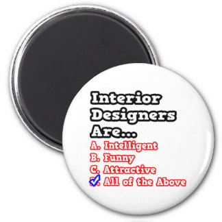 Interior Designer Quiz...Joke Magnets