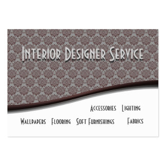 Interior Designer Service Pack Of Chubby Business Cards