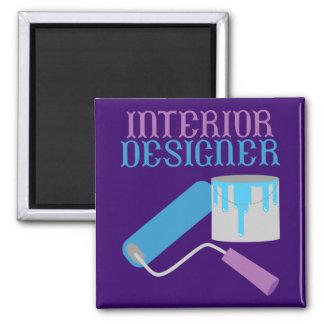 Interior Designer Square Magnet