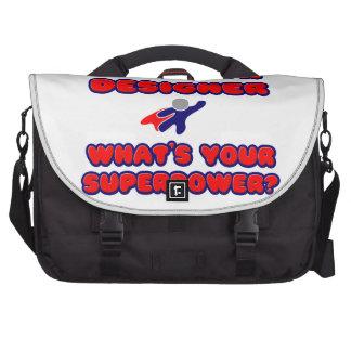 Interior Designer .. What's Your Superpower? Laptop Bag