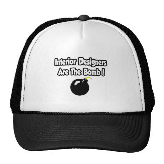 Interior Designers Are The Bomb! Mesh Hat