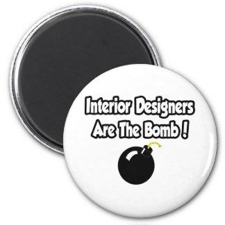 Interior Designers Are The Bomb! Magnets