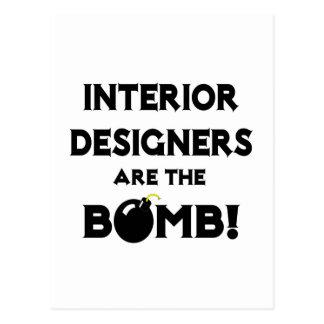 Interior Designers Are The Bomb! Postcard