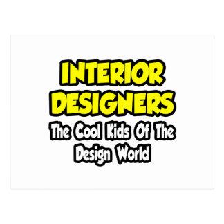 Interior Designers...Cool Kids of Design World Postcard
