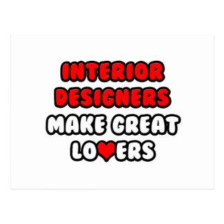 Interior Designers Make Great Lovers Postcard