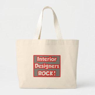 Interior Designers Rock! Canvas Bag
