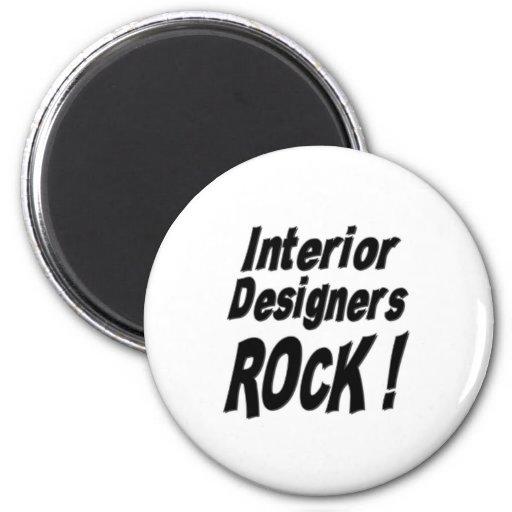 Interior Designers Rock! Magnet
