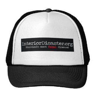Interior Disaster Products Mesh Hat