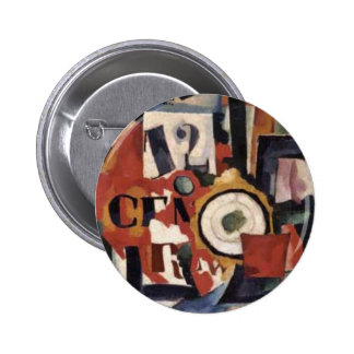 Interior expression of things Amadeo de Souza 6 Cm Round Badge