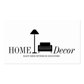Interior Exterior Designer Furniture Store Busines Business Card Templates