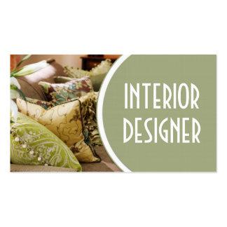 Interior Exterior Designer Furniture Store Business Card Templates