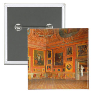 Interior in the Medici Palace 15 Cm Square Badge